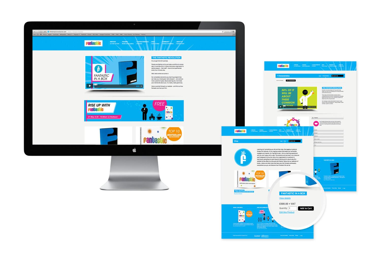 The Fantastic Revolution - UI design and website development